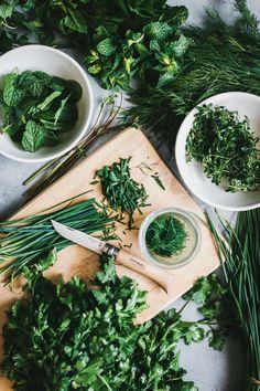 Back to Basics: Storing Fresh Herbs