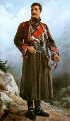 Djordje Petrovic - Karadjordje - hero of Serbian indipendece againts Turks - leader of the First Serbian Uprising (1804-1813) as part of Serbian Revolution (1804-1835) - first national revolution in Europe.