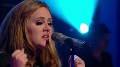 Adele Set Fire To The Rain new 2011 live  HD♥ I Love this Song..♥♥♥
