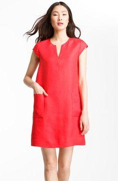 50672cc4fd5 kate spade new york  teri  linen shift dress