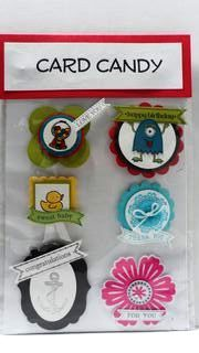 Peanuts and Peppers Papercrafting: Stampin' Up Convention 2012 Sudsol Card Candy Swap