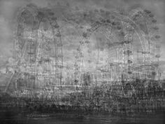Photo illustration by Idris Khan, who compiled photographs and postcards of London landmarks for these haunting images. Pattern Photography, Art Photography, Building Photography, Photography Projects, Idris Khan, Sequence Photography, Multiple Exposure Photography, Whole Image, London Landmarks