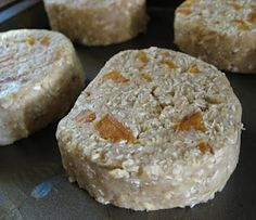 I've been searching for this recipe for a while...so excited I finally found it! Love these oaty pucks of goodness.