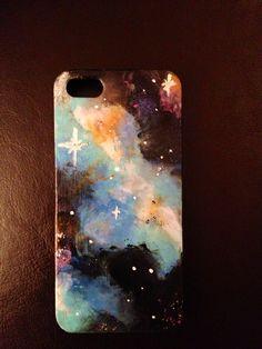 DIY Galaxy IPhone Case