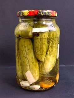 Polish Recipes, Polish Food, Canning Recipes, Healthy Tips, Pickles, Cucumber, Homemade, Canning, Food And Drinks