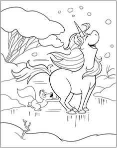 Welcome to Dover Publications  Unicorn Fun Coloring Book