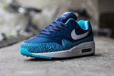 "Nike Air Max 1 GS ""Tiger"" – Brave Blue"