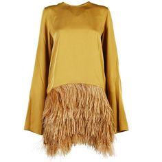 Sofie d'Hoore Dresses (12 730 UAH) ❤ liked on Polyvore featuring dresses, fudge, beige dress and sofie d hoore dress
