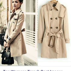 Worthington Trench Coat Fully lined. Cotton/poly. Length from shoulder: 36in . Side pockets. Worthington Jackets & Coats Trench Coats