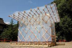 All photos via Kengo Kuma, unless otherwise noted Kengo Kuma has constructed a modernized version of Buddhist monk Kamono Chomei's portable hut that he immor...