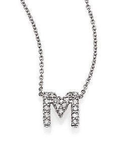 roberto coin tiny treasures diamond amp 18k white gold love letter penda