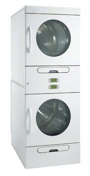 Also available as a stacked unit for double the drying. Industrial Dryers, Laundry Equipment, Laundry Solutions, Stacked Washer Dryer, Washing Machine, Home Appliances, The Unit, Products, House Appliances