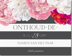 Save-the-date, Save-the-date ontwerpen, gepersonaliseerde Save-the-date Page 8 | Vistaprint