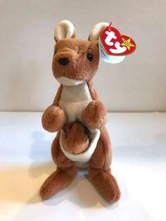 b342de65bae Ty-Beanie-Baby-POUCH-Kangaroo-RETIRED-Generation-4th-