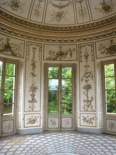 Marie-Antoinette's Salle de Musique, Palais de Versailles, France