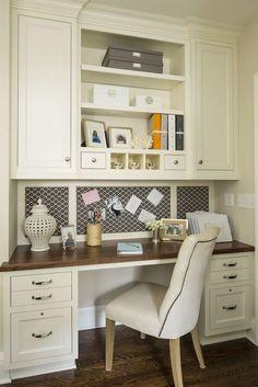 40 Trendy home office nook in kitchen cork boards Home Office Space, Home Office Design, Home Office Furniture, Home Office Decor, Office Ideas, Desk Space, Small Office, Closet Office, Mini Office
