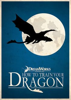 The best HTTYD has to offer: This poster. Love this. This is so beautiful!