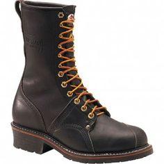 1905 Carolina Men's Professional Linesman Safety Boots - Black www.bootbay.com