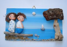 Sunnyday Pebble art hand painted picture от NivaDesignsShop