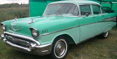 Chevrolet Belair 1957. Original.  http://www.arcar.org/chevrolet-belair-1957-53692