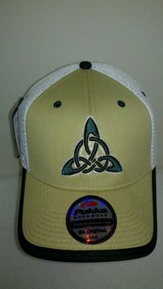 b2a2cf7b59c Front View of the Celtics Cap done by PUKKA