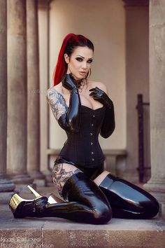 Model: Starfucked Photo: Josefine Jonsson photography Corset: Burleska Corsets Welcome to Gothic and Amazing   www.gothicandamazing.org