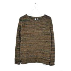 READY TO FISH Trape Brown Melange Sweater | La Luce