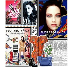 """417. Kristen Stewart [Balenciaga - Florabotanica]"" by back-to-december ❤ liked on Polyvore"