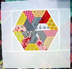 pinwheel hex made of 1/2s