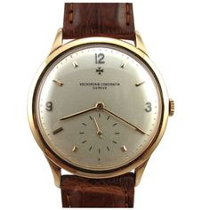 Vacheron & Constantin Pink Gold Men's Large Round ref 4624