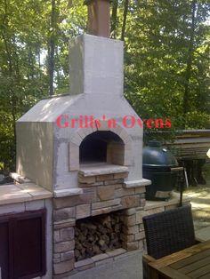 brick oven construction