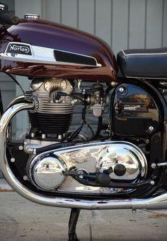 Norton Bike, Norton Cafe Racer, Norton Motorcycle, American Motorcycles, Triumph Motorcycles, Motorcycle Engine, Motorcycle Design, Vintage Bikes, Vintage Motorcycles