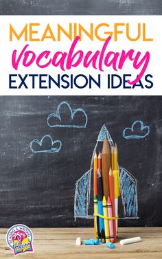Vocabulary learning involves meaningful interaction with new words. This post is full of fun extension ideas that encourage students to think creatively and synthesize their learning. #VocabularyActivity #MiddleSchoolELA #HighSchoolELA #EngagingELA