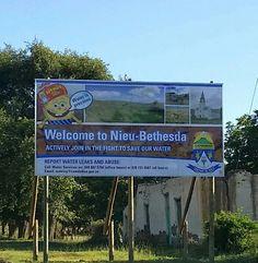 Nieu Bethesda Save Our Water, African