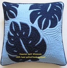 Hawaiian-quilt-handmade-100-hand-quilted-appliqued-cushions-2-pillow-covers-18