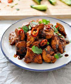 Garlic Chicken Thai-Style Garlic Chicken Recipe on Yummly. Garlic Chicken Recipe on Yummly. Thai Recipes, Asian Recipes, Cooking Recipes, Healthy Recipes, Healthy Breakfasts, Delicious Recipes, Garlic Chicken Recipes, Asian Cooking, Thai Cooking