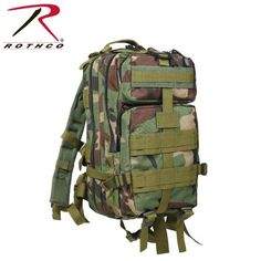 Rothco Medium Transport Pack Woodland Camo * Check this awesome product by going to the link at the image.