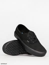 U AUTHENTIC LITE (Canvas) Black