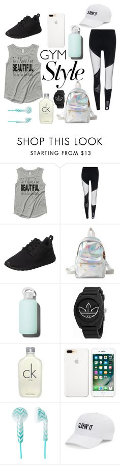 """""""Untitled #654"""" by dolrebeca ❤ liked on Polyvore featuring NIKE, Charlotte Russe, bkr, adidas, Calvin Klein and SO"""