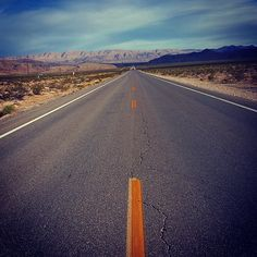 Straight lonesome and long. the Great Basin Highway.#travel #traveling  #nationalpark #landscape_lovers