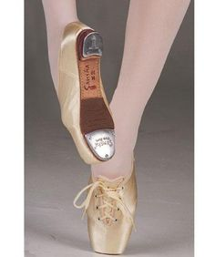 This is a mind boggling concept of tap shoes concealed in pointe shoes?
