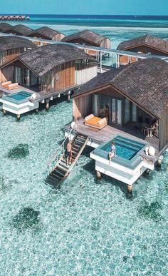 Club Med Finolhu Villas # Malediven Foto Brad Jarman Kiara King … - Vacation To World - Reisen - Honeymoon Destinations, Holiday Destinations, Holiday Places, Dream Vacations, Vacation Spots, Vacation Villas, Jamaica Vacation, Good Vacation Places, Romantic Vacations