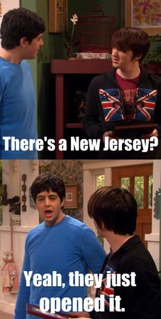 Drake and Josh, LOVED LOVED LOVED this show. One of the few shows that actually made me laugh out loud.