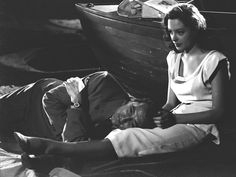 Robert Mitchum and Jane Greer in Out of the Past (1947).