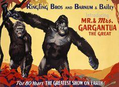 Mr. & Mrs. Gargantua the Great Fine Art Print