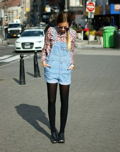 Dungaree Dressing. I am 100% obsessed with any and everything this girl wears. #weworewhat