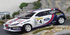 Rallye Automobile de Monte-Carlo 2001 Ford Focus RS WRC McRae/Grist 1/43