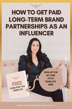 If you are wanting to work with brands as an influencer, here is the perfect brand pitch template. For anyone wondering how to work with brands as a blogger or how to work with brands on Instagram, you need this free brand pitch email template. | pitch template for brands free | how to pitch brands | how to make money as a blogger | how to become an influencer | how to travel for free | how to get free travel | how to get free hotel stays | how to get free hotel rooms | influencer pitch template Traveling By Yourself, Free Hotel, Solo Travel Tips, Work Abroad, Volunteer Abroad, Email Templates, Travel Alone, Free Travel, Travel Abroad