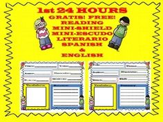 This product will be FREE the 1st 24 HOURS only!  It is a bilingual SPANISH/ENGLISH Mini Reading Shield.Mini Escudo Literario GRATIS-Primeras 24 Horas......THANK YOU and please check out my other products at my store.Customer Tips: How to get TPT credit to use on future purchases:  Please go to your My Purchases page (you may need to login).