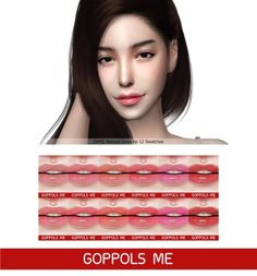 Natural Gloss lip by GOPPOLS Me for The Sims 4
